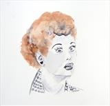 I Love Lucy by Claire Meharg, Drawing, Watercolour